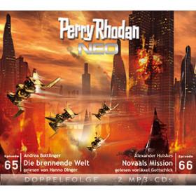 Perry Rhodan Neo MP3 Doppel-CD Folgen 65+66