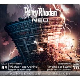 Perry Rhodan Neo MP3 Doppel-CD Folgen 69+70