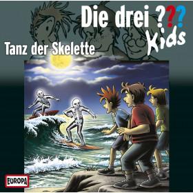 Die drei ??? Fragezeichen Kids - Folge 48: Tanz der Skelette