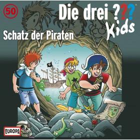 Die drei ??? Fragezeichen Kids - Folge 50: Schatz der Piraten