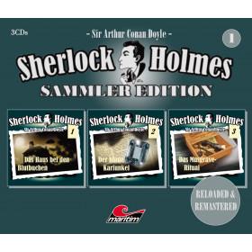 Sherlock Holmes - Sammler Edition - Box 01 (Folge 1 bis 3)