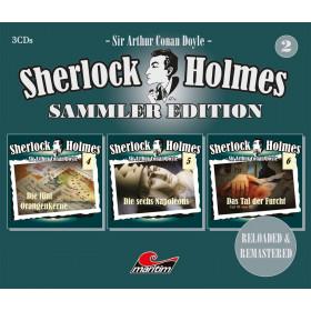 Sherlock Holmes - Sammler Edition - Box 02 (Folge 4 bis 6)