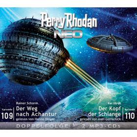 Perry Rhodan Neo MP3 Doppel-CD Episoden 109+110