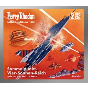 Perry Rhodan Silber Edition 134 Sammelpunkt Vier-Sonnen-Reich (2 mp3-CDs)