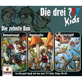 Die drei ??? Fragezeichen Kids Die 10. Box (Folge 28 - 30)