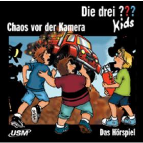 Die drei ??? Kids USM Folge 4: Chaos vor der Kamera