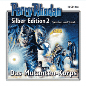 Perry Rhodan Silber Edition Nr. 02 Das Mutanten-Korps