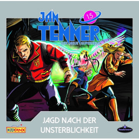 Jan Tenner - Folge 15: Jagd nach der Unsterblichkeit