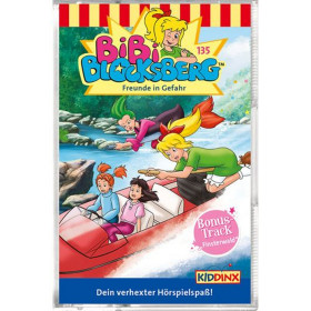 Bibi Blocksberg - Folge 135: Freunde in Gefahr (MC)