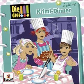 Die drei Ausrufezeichen - Folge 51: Krimi-Dinner