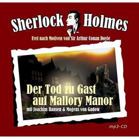 Sherlock Holmes Sonderedition (mp3 CD): Der Tod zu Gast auf Mallory Manor