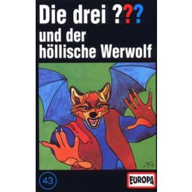 MC Die drei ??? 043 alte Auflage und der höllische Werwolf