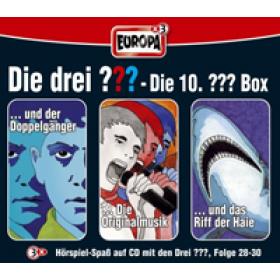 Die drei Fragezeichen Fan Box die 10. Folgen 28 - 30