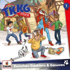 TKKG Junior - Folge 7: Zwischen Gauklern und Ganoven