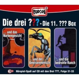 Die drei Fragezeichen Fan Box die 11. Folgen 31 - 33