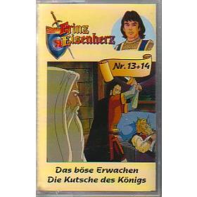 MC WZ Prinz Eisenherz Folge 13+14 Das böse Erwachen / Die Kutsche des Königs