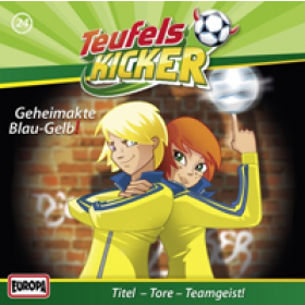 Die Teufelskicker 24 Geheimakte Blau-Gelb!