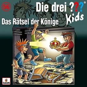 Die drei ??? Fragezeichen Kids - Folge 56: Das Rätsel der Könige