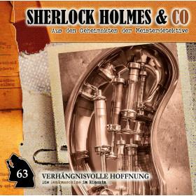 Sherlock Holmes und Co. 63 Professor van Dusen-Verhängnisvolle Hoffnung
