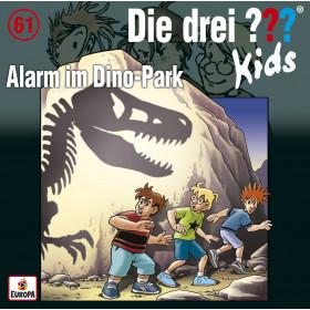 Die drei ??? Fragezeichen Kids - Folge 61: Alarm im Dino-Park