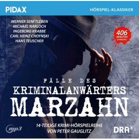Pidax Hörspiel Klassiker - Fälle des Kriminalanwärters Marzahn