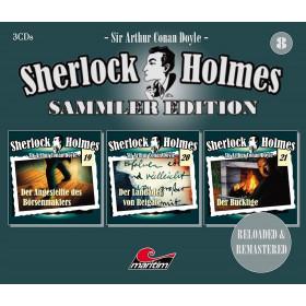 Sherlock Holmes - Sammler Edition - Box 8 (Folge 19, 20, 21)