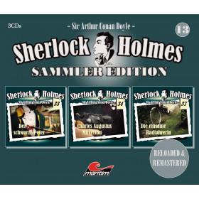 Sherlock Holmes - Sammler Edition - Box 13 (Folge 33, 34, 37)