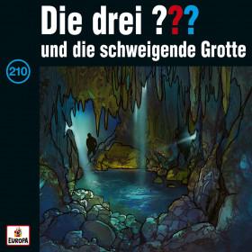Die drei ??? Fragezeichen - Folge 210: und die schweigende Grotte (CD)