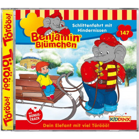 Benjamin Blümchen - Folge 147: Schlittenfahrt mit Hindernissen (CD)