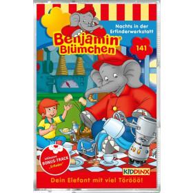 Benjamin Blümchen - Folge 141: Nachts in der Erfinderwerkstatt (MC)