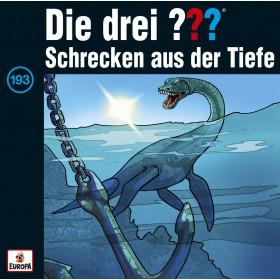 Die drei ??? Fragezeichen - Folge 193: Schrecken aus der Tiefe (CD)