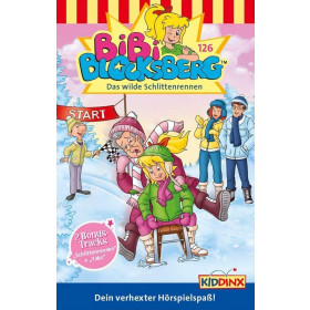 Bibi Blocksberg - Folge 126: Das wilde Schlittenrennen (MC)