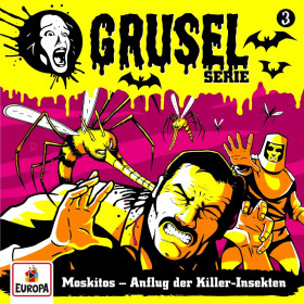 Gruselserie - Folge 3: Moskitos - Anflug der Killer-Insekten (LP)