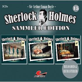 Sherlock Holmes - Sammler Edition - Box 15 (Folge 36, 37, 42)