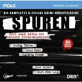 Pidax Hörspiel Klassiker - Spuren - Frei nach Akten der Berliner Kriminalpolizei
