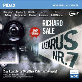 Pidax Hörspiel Klassiker - Lazarus Nr. 7