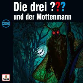 Die drei ??? Fragezeichen - Folge 206: und der Mottenmann (CD)