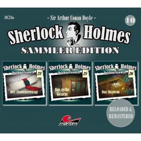 Sherlock Holmes - Sammler Edition - Box 10 (Folge 23, 25, 26)