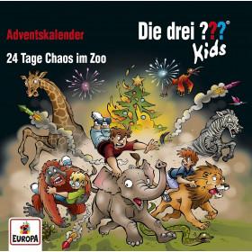 Die drei ??? Fragezeichen Kids - Adventskalender: 24 Tage Chaos im Zoo