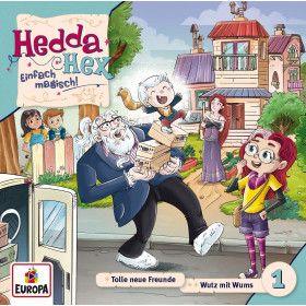 Hedda Hex - Folge 1: Tolle neue Freunde / Wutz mit Wums