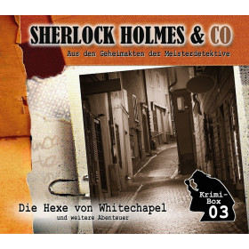Sherlock Holmes und Co. Krimi-Box 03 mit den Folgen 7-9