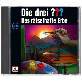 Die drei ??? Fragezeichen - Folge 205: Das rätselhafte Erbe (CD)