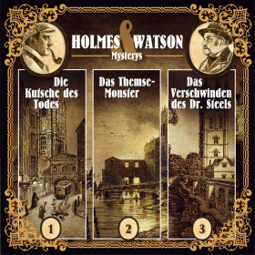 Holmes & Watson Mysterys Vol.1 Folge 1,2,3
