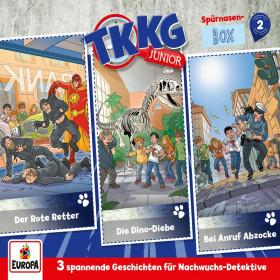 TKKG Junior - Spürnasen-Box 2 (Folgen 4,5,6)
