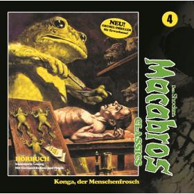 Macabros Classics - Folge 4: Konga, der Menschenfrosch