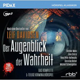 Pidax Hörspiel Klassiker - Der Augenblick der Wahrheit