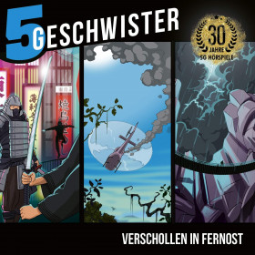 5 Geschwister - Verschollen in Fernost (3 CDs)