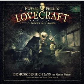 H.P. Lovecraft - Chroniken des Grauens - Folge 4: Die Musik des Erich Zann (Doppe-Vinyl-Grün)