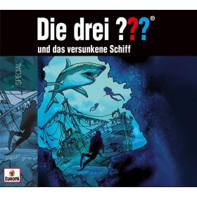 Die drei ??? Fragezeichen und das Versunkene Schiff - Special (CD - Jewel Box)