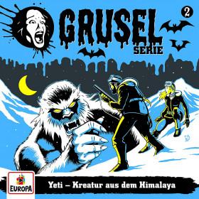 Gruselserie - Folge 2: Yeti - Kreatur aus dem Himalaya (LP)